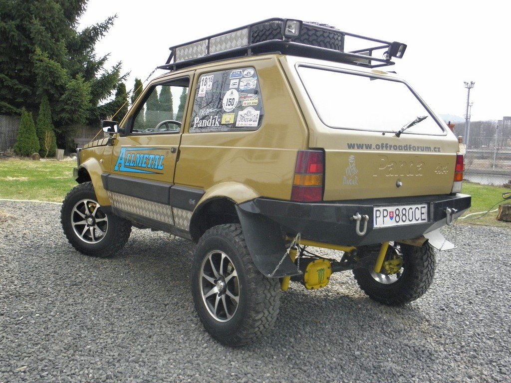 Fiat panda pand k for Panda 4x4 sisley off road